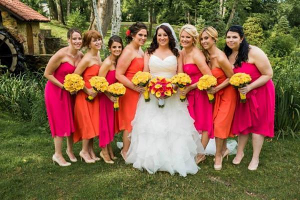 Flowergirls For A Spring Wedding